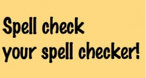 spell checker